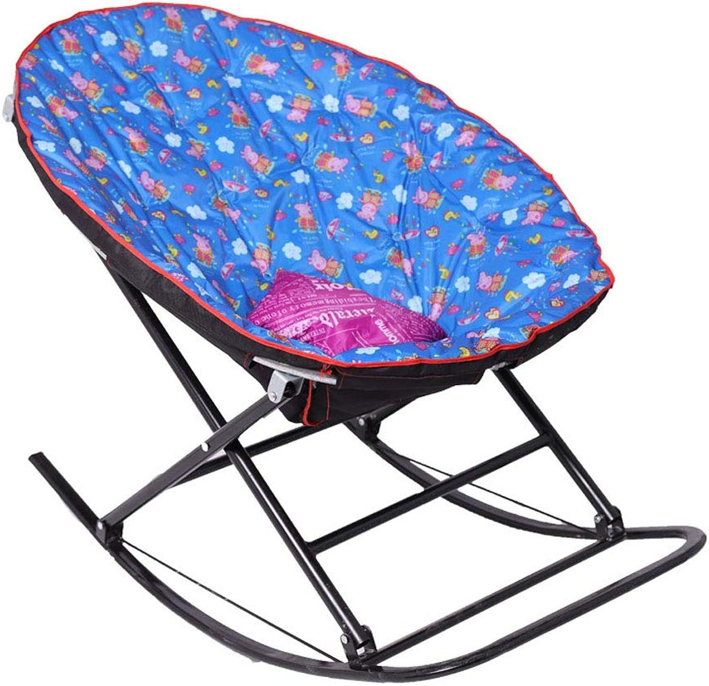 alta calidad y envío rápido Silla Silla Silla mecedora para bebé silla adulta para Niños silla de interior para el ocio-azul  a la venta