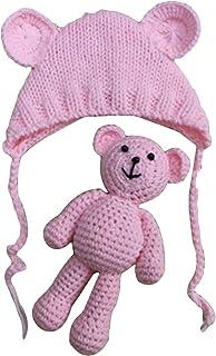oso de punto lindo con gorra de juguete de ganchillohttps://amzn.to/2MmQ7wi