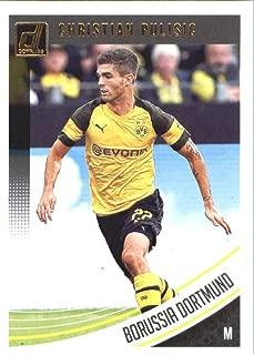 2018-19 Panini Donruss Soccer #66 Christian Pulisic Borussia Dortmund Official Panini 2018-2019 Futbol Trading Card