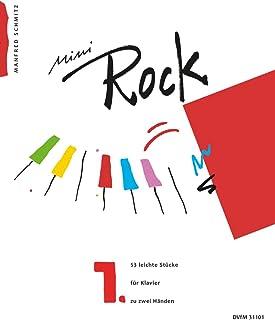 Mini-Rock, Book 1 - 53 Easy Pieces for Piano solo - (DV 31101)