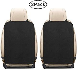 2er Pack extra große Trittmatten für Autositze, schützt vor Abnutzungserscheinungen, Feuchtigkeit und Schmutz, wasserdichter Rücksitzschutz für Autositze für Kinder