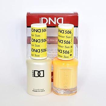 DND Gel & Matching Polish Set (506 Summer Sun)