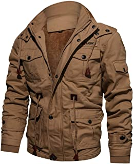Men Cashmere Thickened Jacket Stylish Slim Fit Cardigan Trench Breathable Winter Coats Top M~4XL