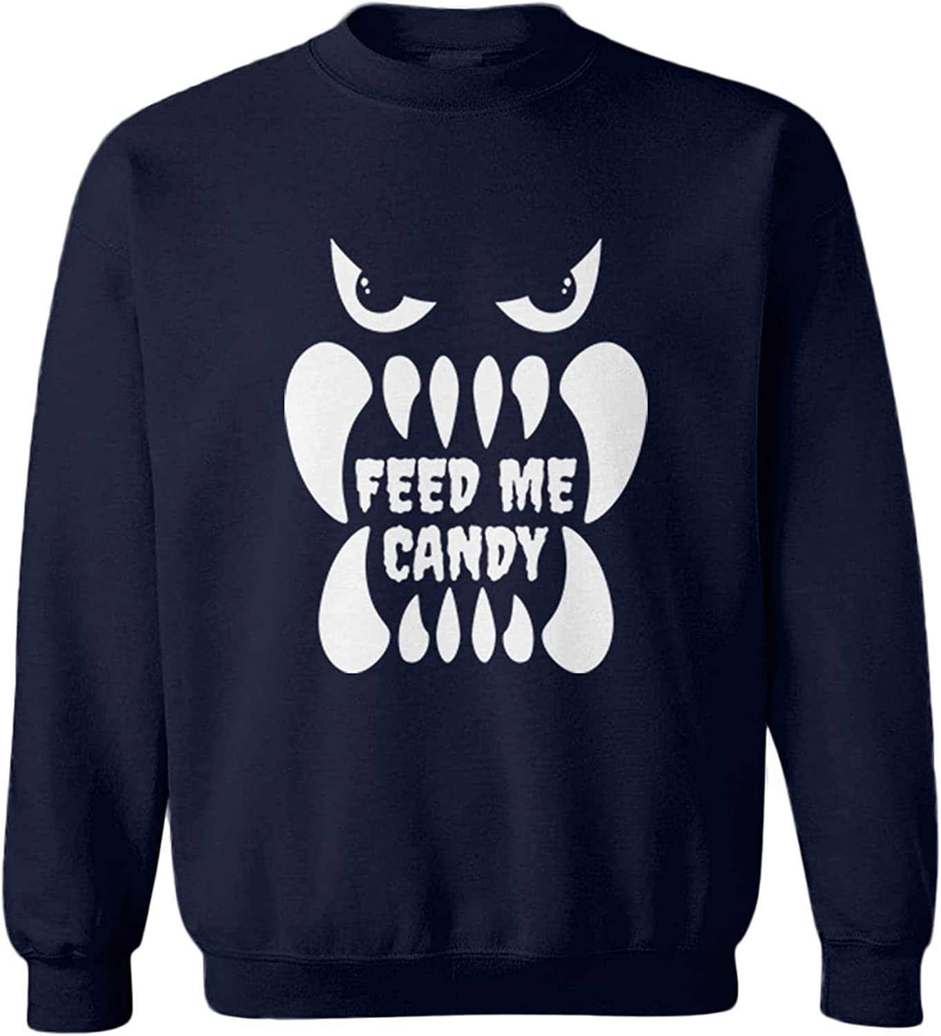 Feed Me Candy Outlet sale feature Some reservation - Trick Or Monster Toddler Fleece Crewneck S Treat