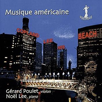 Musique Américaine: A. Copland, N. Lee, C. Ives, A. Beach