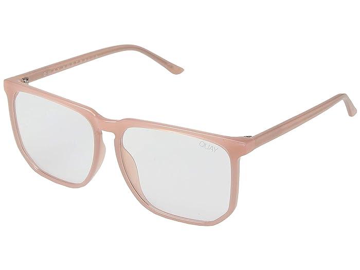 QUAY AUSTRALIA Stranger (Pink/Clear Blue Light) Fashion Sunglasses