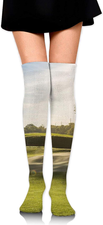 Women Cartoon Sushi Thigh High Tights Over Knee Socks Casual High Stockings