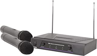 Dual Handheld Wireless Microphone System   VHF - 173.8 + 174.8MHz