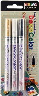 مجموعة أقلام تلوين أوتشيدا ديكو ذات أطراف دقيقة جدًا، 3 قطع