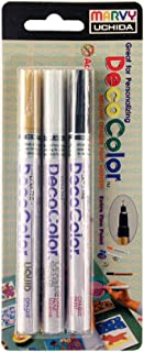 UCHIDA Deco Color Extra Fine Tip Paint Marker Set