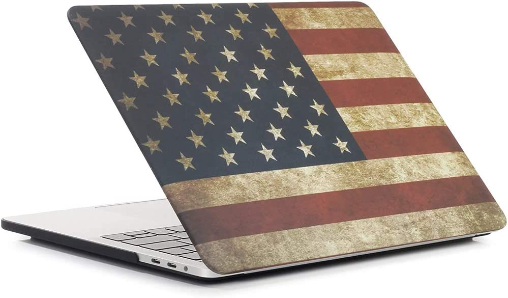 Soft-Touch Smooth Lightweight Macbook Cover for MacBook Pro 13 Inch One Micron Macbook Pro 13.3 Case A1278 -Wolf