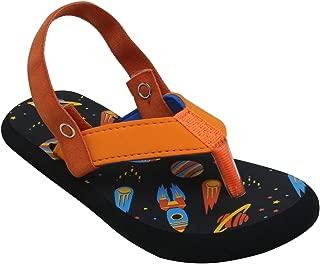 D'chica Bro Dolphin Themed Slider Slippers for Boys