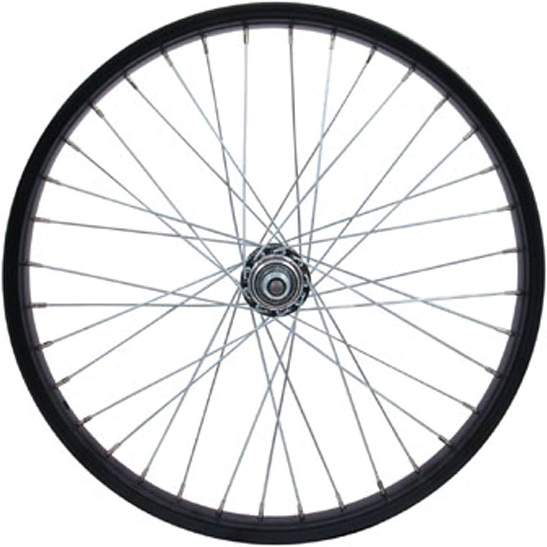 STA Tru Rear Steel Wheel with 3 8  Axle, 20mm x 1.75 , Black