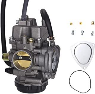 SUNROAD Replacement Carburetor for ATV Yamaha 2000-2006 Big Bear Kodiak 400 & 2007-2011 Grizzly 350 450 & 2006-2009 Wolverine 350 & 2007-2010 Wolverine 450