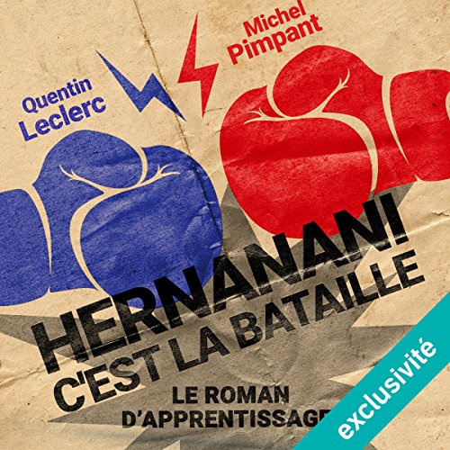 Hernanani - C'est la bataille : Le roman d'apprentissage audiobook cover art