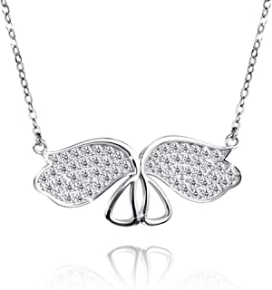 Best crystal necklace sterling silver Reviews