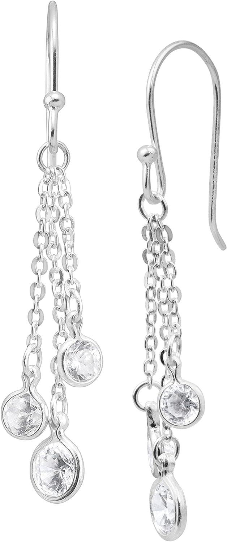 Silpada 5% OFF 'Marvel' Cubic Zirconia Drop Earrings in New popularity Tassel Sterling