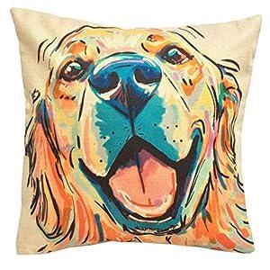 Golden Retriever Pillow Cover