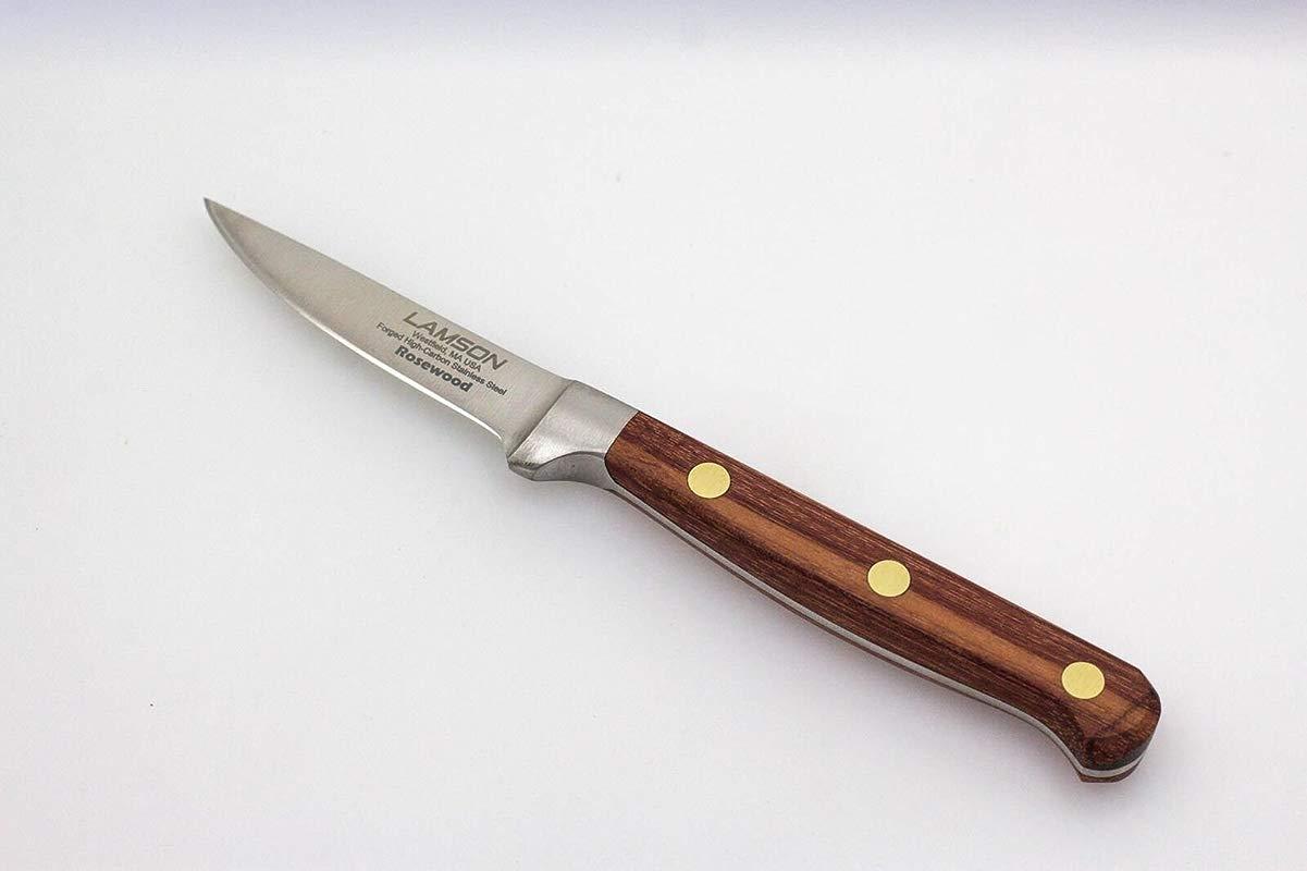 Lamson 39711 Rosewood Forged 2 875 Inch Trimming Paring Boning Knife