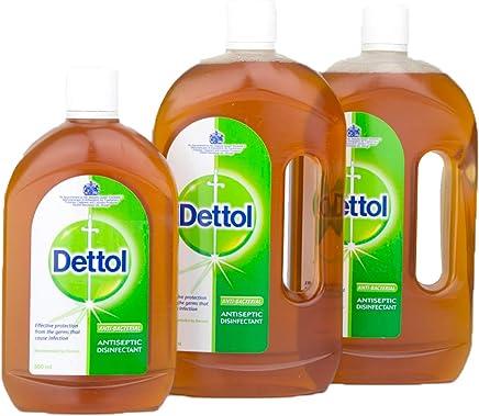 Dettol Antiseptic Liquid 2x750ml + 500ml Free