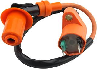 GOOFIT 135 Degree Elbow Ignition Coil for GY6 50cc 60cc 80cc 125cc 150cc ATV Go Kart Moped Scooter