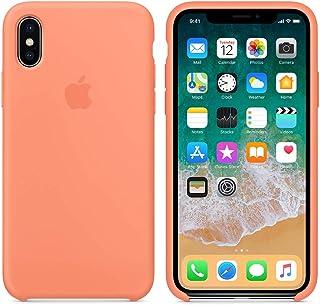 654a3988902 Funda Silicona para iPhone X y XS Silicone Case, Textura Suave, Forro  Microfibra (