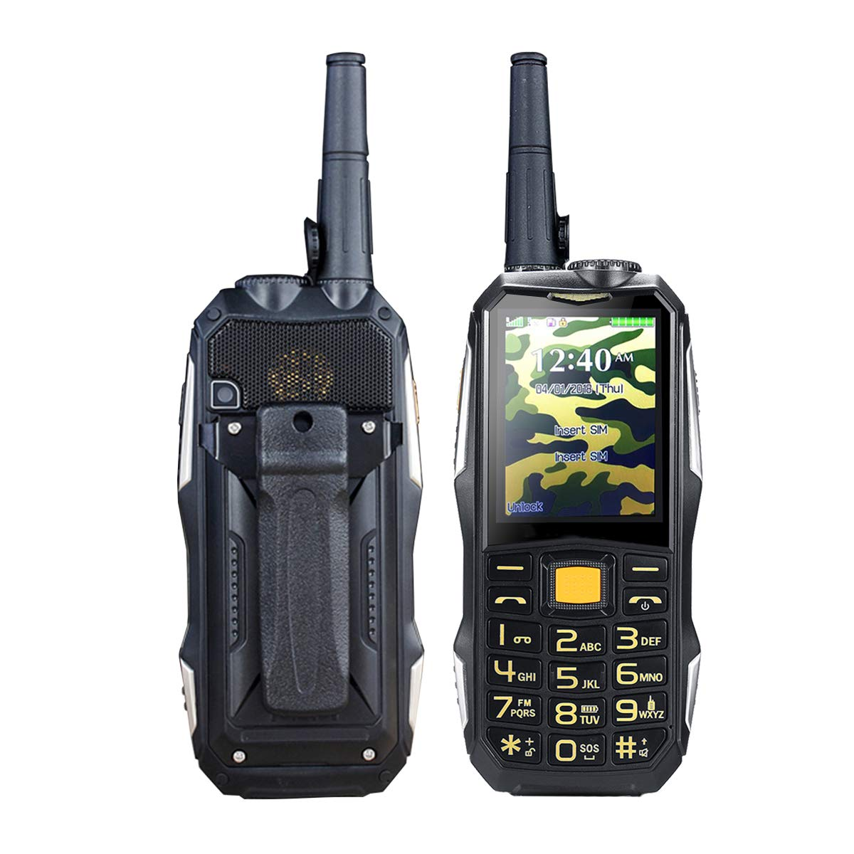 Generic 2.4inch 19800mah Rugged Phone Dual SIM GSM Walkie Talkie ...