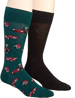 All Over Preppy Polo Bear Socks - 2 Pack (899756PK)