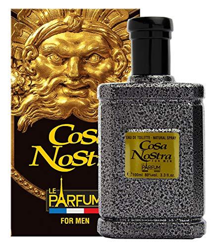Le Parfum de France Cosa Nostra Eau de Toilette für Herren, 100 ml