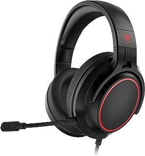 NUBWO N20 - Auriculares de diadema para PS4, Xbox One, mando de PS5, PC, cancelación de ruido con micrófono, sonido envolvente de graves, almohadillas de memoria suave para juegos Xbox Series X
