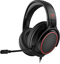 NUBWO N20 Stereo Gaming Headset for PS4, Xbox One, PS5 Controller, PC, Over Ear Headphones with Microphone, Noise Cancelli...