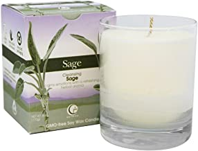 product image for Way Out Wax, Candle Tumbler Glass Sage Clear Box