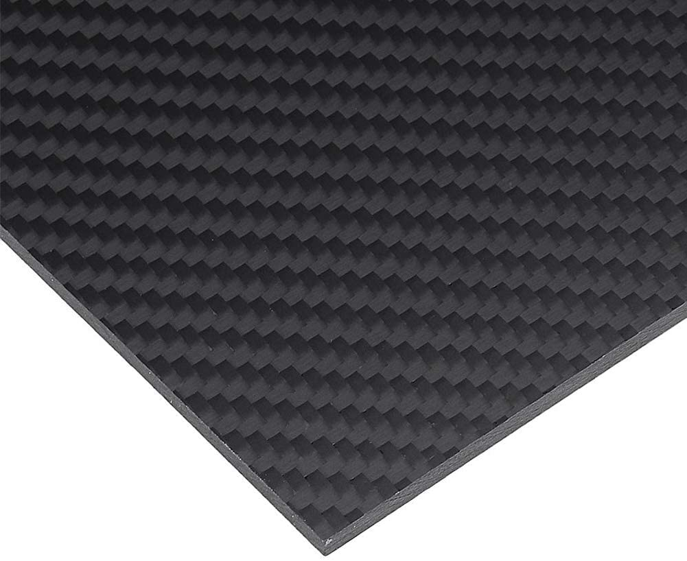AFuex 1Pcs 3K Carbon Fiber Sheet Thickness Weave Special price for a limited time 0.2-1mm Twill Rare