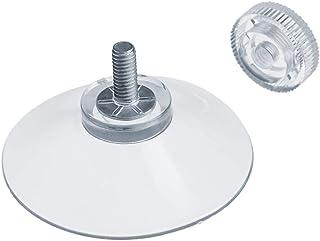 comprar comparacion DIYexpert® 20 ventosas Ø 40 mm con rosca M4 x 10 mm incluye tuercas moleteadas transparentes – Fabricado en Alemania