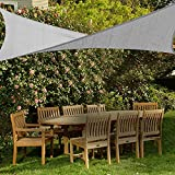 FOCHEA Toldo Vela de Sombra Rectangular 2x3 M, Toldo UV HDPE Prevención Rayos UV Resistente y Transpirable para Terraza, Jardín, Pérgola, Patio, Balcón