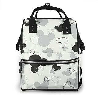 multifunci/ón HDGLL Bolsa de pa/ñales Minnie Mouse bolsa para beb/é mochila de viaje gran capacidad