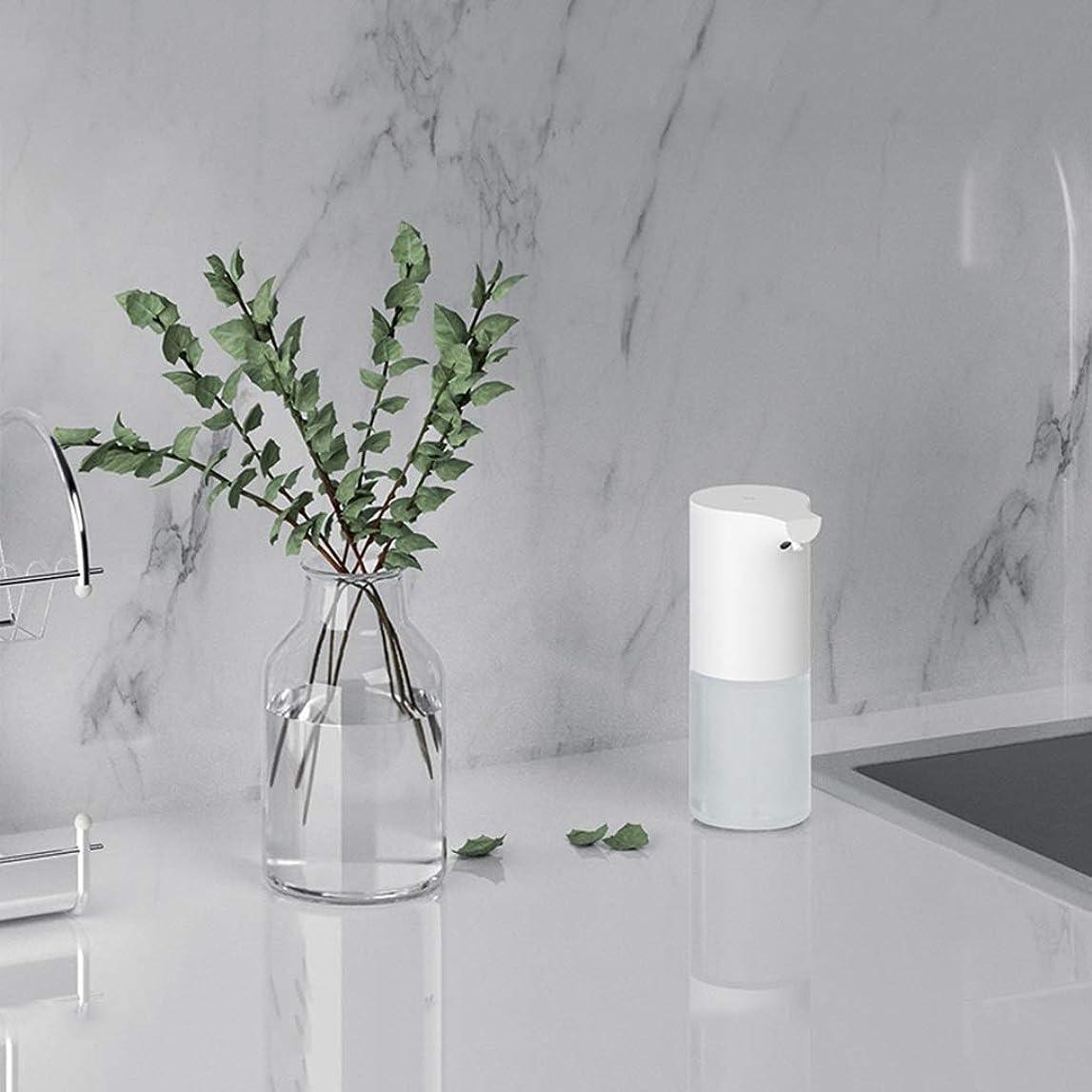 ヘクタール同意服赤外線センサー泡手消毒剤320ミリリットル環境保護素材石鹸ボトルキッチンバスルームローション(色:白、サイズ:19 * 9.8 * 7.3 cm) (Color : White, Size : 19*9.8*7.3cm)