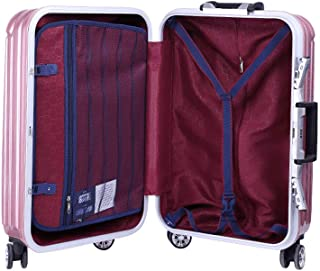 Unisex Travel Travel Suitcase Password Box Adult Trolley case Purple