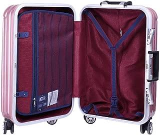 Unisex Travel Travel Suitcase Password Box Adult Trolley case Purple