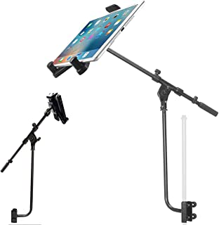 """ChargerCity 360° Adjust 19"""" Metal Pole/Bar Mic Microphone Stand Clamp on Boom Live Video Streaming Mount for Smartphone & ..."""