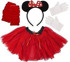Disfraz de Minnie Mouse de 4 piezas para mujer