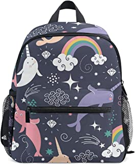 narwhal school backpack