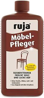 ruja Möbel-Pfleger 1 Liter | Möbelpolitur, Holzpflegeöl und Fleckentferner | für Möbel, Tische, Stühle, Türen Parkett | Ohne Wachs-, Silikon-, Lack- und Farbzusätze