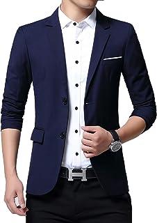 ZZWAI メンズ ジャケット スーツ 生地 カジュアル コート ビジネス ジャケット テーラードジャケット サマージャケットジャケット メンズ スーツ テーラードジャケット ビジネス カジュアル 綿 大きいサイズ
