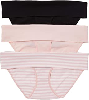 Motherhood Maternity Women's 3 Pack Fold Over Brief Panties