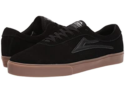 Lakai Sheffield (Black/Gum Suede) Men