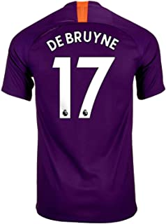 Manchester City 2018/19 3rd Jersey Kevin De Bruyne 17 Adult Sizes