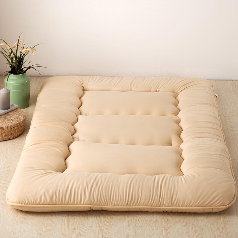 Ultra Soft Traditional Japanese Tatami Floor Mattress Futon Mat Collapsible Tatami mat Floor Mattress Sofa Bed (color   K, Size   90cmx200cm)