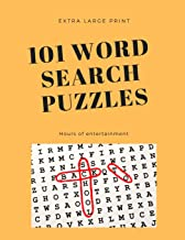 101 Word Search Puzzles: Extra Large Print