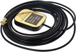 Othmro Antena activa GPS SMA hembra 3M, 28dB LNA Gain 1575.42MHz GPS Antena activa señal más fuerte